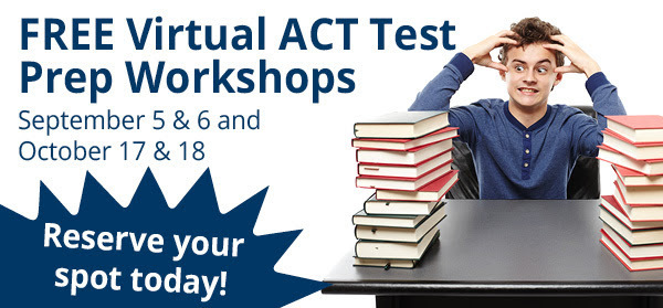 FREE ACT Prep Workshops October 17 & 18