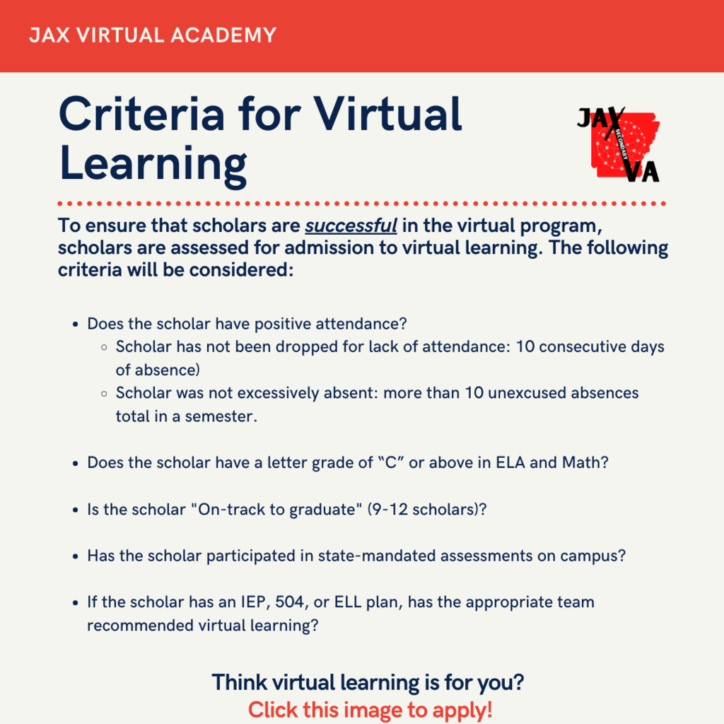 Criteria for Virtual Learning
